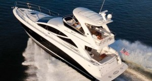Propel your dreams with the new Sea Ray 450 Sedan Bridge