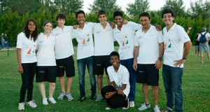 Team India at Laser 4.7 Youth Worlds 2012