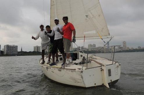 Atool Sinha Sailing