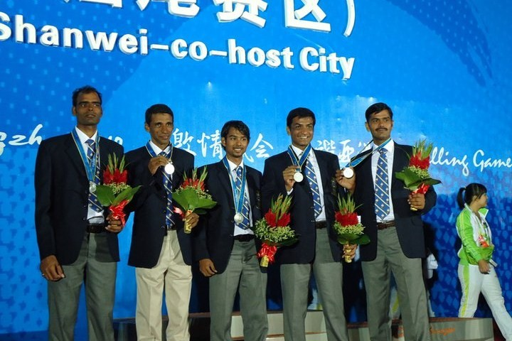 Match racing team wins Silver at Guangzhou