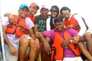 Barefoot Sailors Ahoy !!