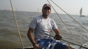 Abhijeet goes racing with Sailing Times India !!