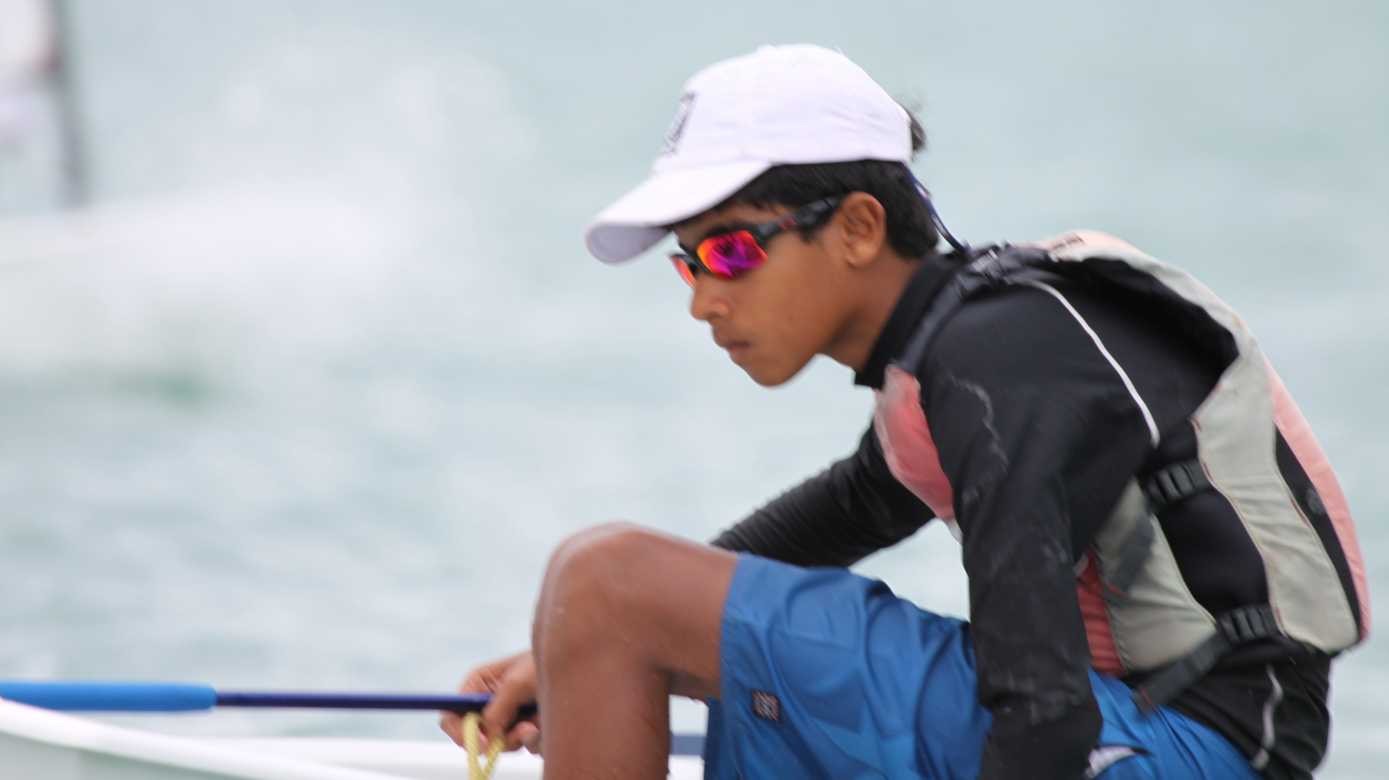 Upamanyu wins India's first Gold at Qatar International Regatta