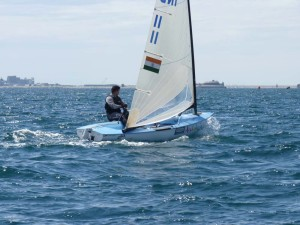Finn – Weymouth and Portland International Regatta 2011