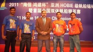 Brijraj Verma finishes 5th in Hobie 16 Asian Championship