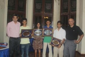RBYC sailors felicitation 2011