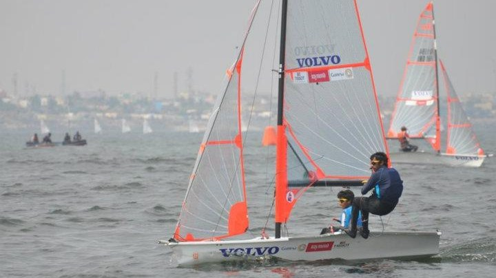 Ganapathy and Varun dominate in 29er, Peter Lin maintains lead in Optimist