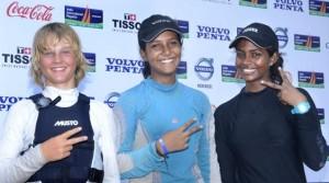Varsha and Aishwarya at the top in 29er