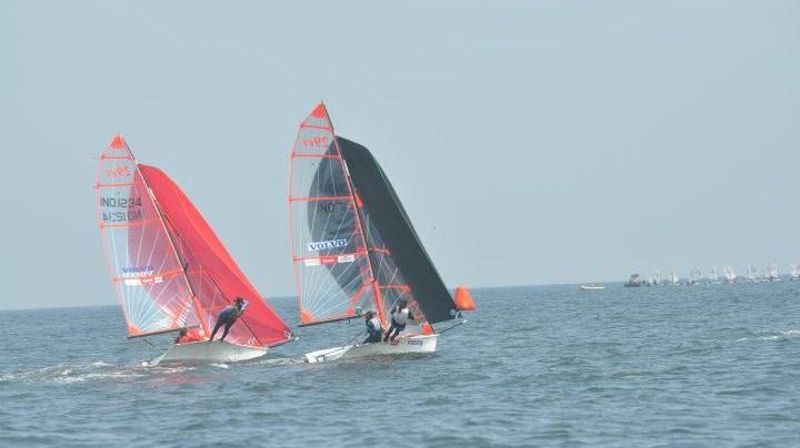 Varsha and Aishwarya take lead in 29er, Peter Lin extends lead in Optimist