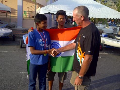 Vishnu Sarvanan wins Bronze at Langkawi International Regatta