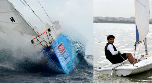 Gaurav Shinde to become the first Indian to take part in Round the World Yacht Race