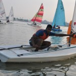 Laser Sailing at Hussain Sagar