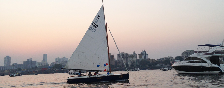 Sailing in Mumbai